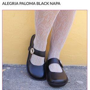 Alegria Paloma Black Napa shoes